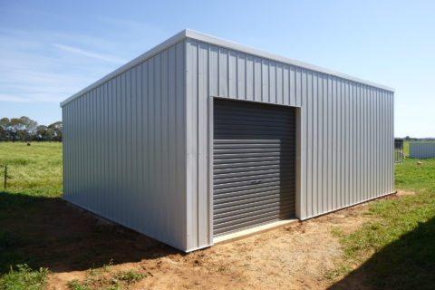 Skillion shed